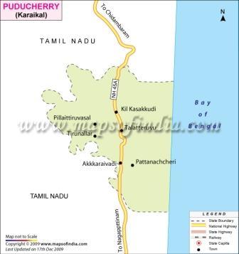 Karaikal Map